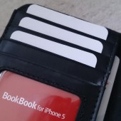 BookBook for iPhone 5 Classic Black
