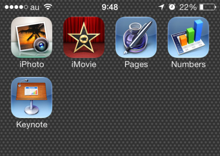 iPhone5s apps