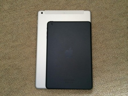 iPad Air Wi-Fi + Cellular 64GB シルバー、iPad mini
